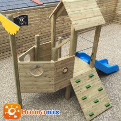 Play Barco Pirata Infantil   Animamix